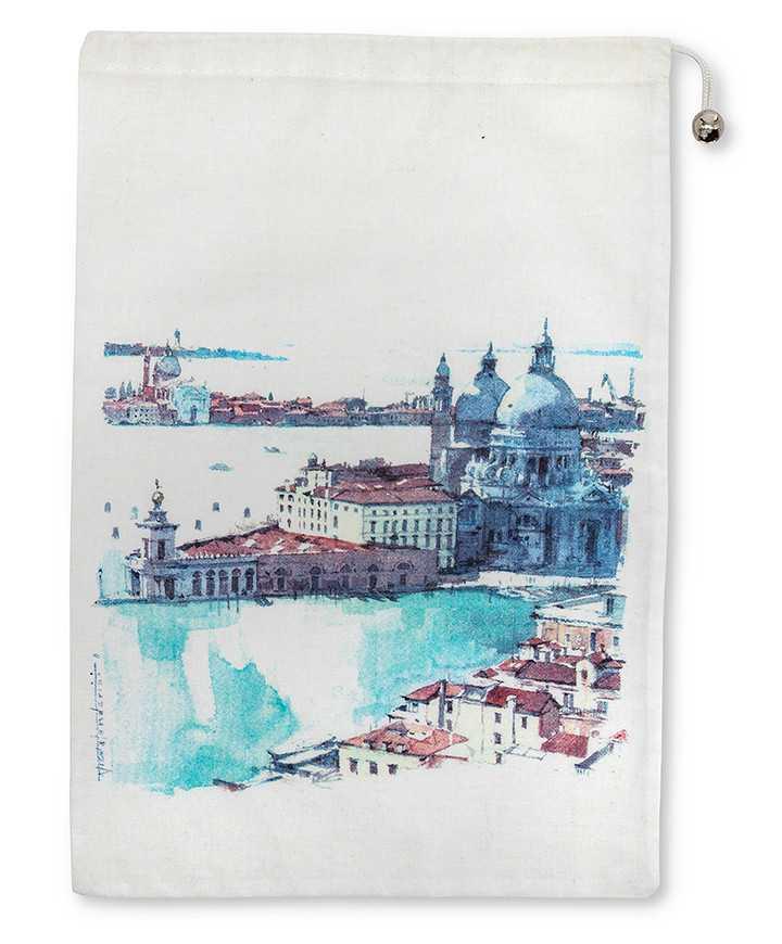 Sacchetti Stampe Artista Twill Satin Bianco Cotone 100% 135gr/mq