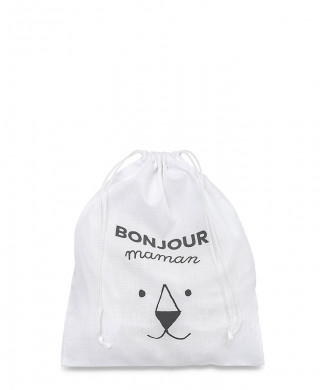 Bags for Leather Accessories Polycotton 100% White 110 gr / mtq