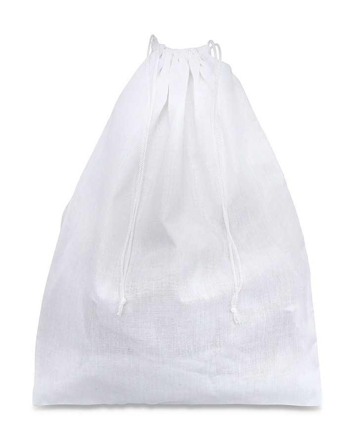 Sacchetti per Scarpe Uomo e Donna Policotone 100% Bianco 110gr/mtq