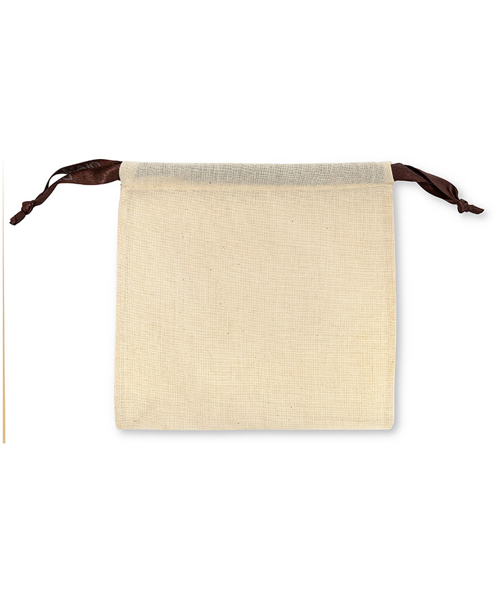 Bag for Belts and Accessories Furnishing 100% Natural Cotton Ecrù 110 gr/mtq