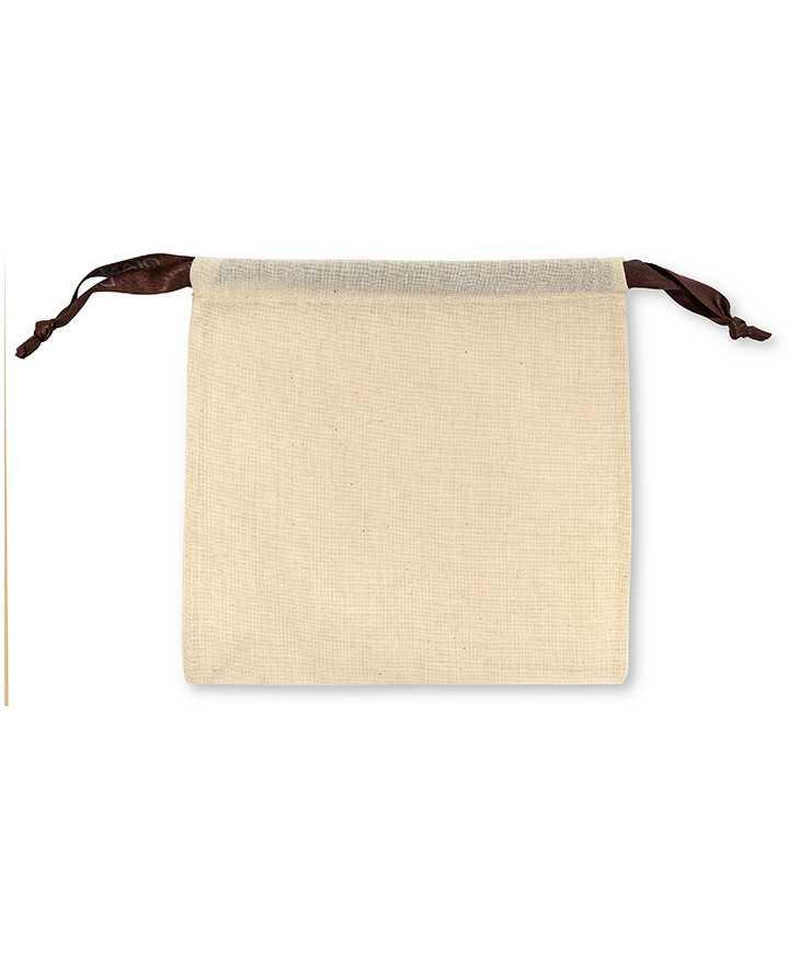 Sacchetto per Cinture e Accessori Arredamento Cotone 100% Naturale Ecru' 110 gr/mtq