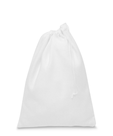 White Fleece Bag for Women's Shoes 165 gr / mtq 1 lace