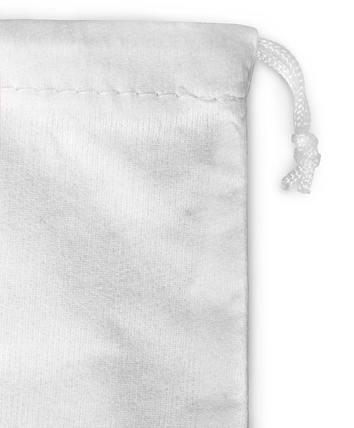 Viscosa 100% White Bag 100gr/mtq for Shoes, Clutch and Clutch