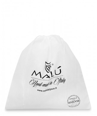 Sacchetto Bianco per Pochette, Clutch, Cinture e Scarpe in TNT Polipropilene 50-60gr/mtq
