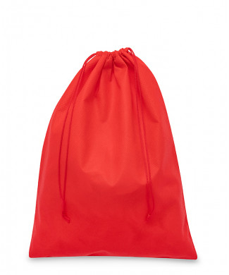 Red Bag for Clutch Bag, Belts and Shoes in TNT Polypropylene 50-60gr/mtq