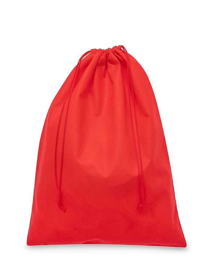 Sacchetto Rosso in TNT Polipropilene per Pochette Clutch Cinture e Scarpe 50-60gr/mtq