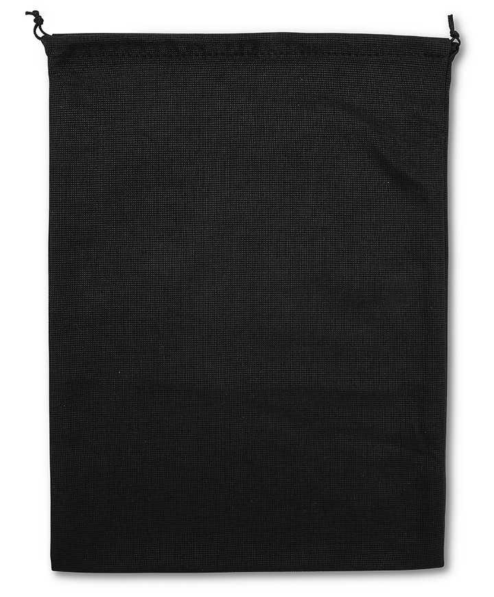 Sacchetto Nero per Cinture, Borse e Scarpe Unisex Poliestere Morbido 120gr/mtq