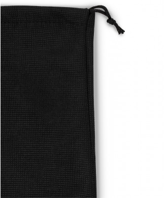 Tripolino shape Treccia Black Laces for Fleece Bags