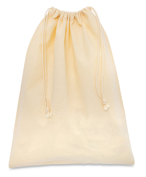 Bag in Cotton 100% Natural Ecru 110gr/mq